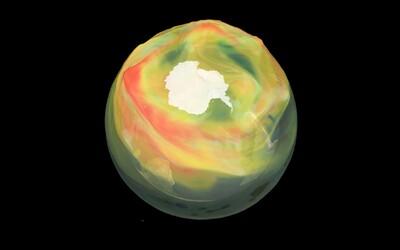 Ozónová díra by se do roku 2060 měla úplně zacelit. Během této zimy je ale nad Arktidou extrémně velká