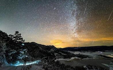 Padajúce Geminidy uchvátili pozorovateľov z celého sveta. Meteorický roj niekde oblohu premenil na nepoznanie