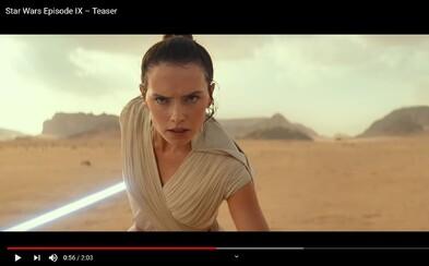 Palpatine sa vracia! Prvý trailer pre Star Wars: The Rise of Skywalker na tebe zanechá zimomriavky
