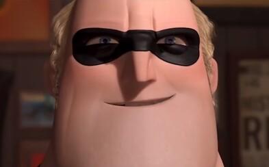 Pán Úžasný ma v prvých záberoch očakávanej pixarovky Rodinka úžasných 2 menšie problémy s nadváhou