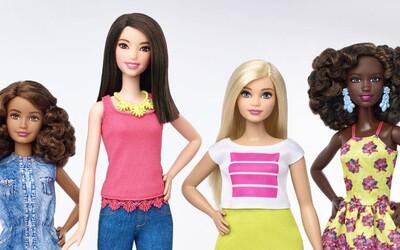 Panenky Barbie dostaly tři nové typy postav! Mohou být vysoké, oblé či útlé a nechybí ani rozdílná barva pleti
