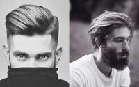 Pánské účesy: Zima nám klepe na dveře a tajemstvím úspěchu jsou přirozené a zdravé vlasy
