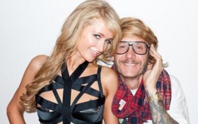 Paris Hilton v spodnom prádle u Terryho Richardsona