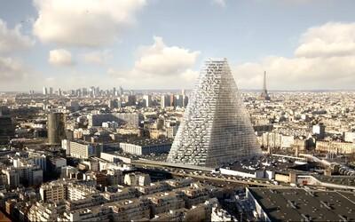 Paříž schválila výstavbu skleněného mrakodrapu ve tvaru pyramidy. Bude jednou z největších dominant města