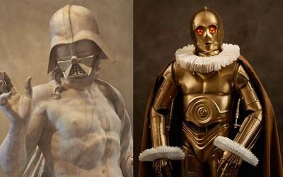 Parížska galéria hostí výstavu spájajúcu Star Wars s umením rôzneho druhu, od sôch až po fotografie