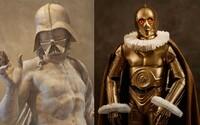 Pařížská galerie hostí výstavu spojující Star Wars s uměním různého druhu, od soch až po fotografie