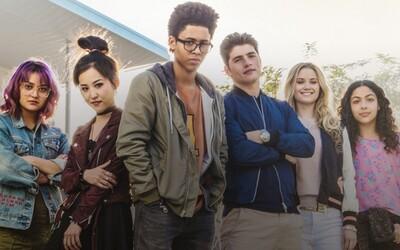 Partička superhrdinských tínedžerov Runaways sa predstavuje na prvých obrázkoch nového marvelovského seriálu