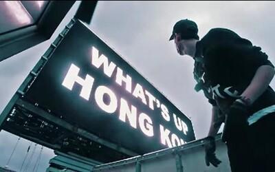 Partii Rusov sa podarilo vyjsť na jeden z mrakodrapov v Hongkongu