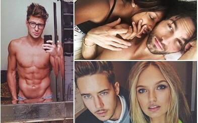 Partneri krások z Victoria's Secret: Príťažliví fešáci, ktorí za svojimi nádhernými polovičkami rozhodne nezaostávajú