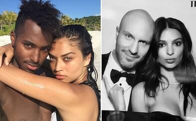 Partneři modelek: Seznamte se s muži, kteří si získali srdce krásek jako Emily Ratajkowski, Irina Shayk či Doutzen Kroes