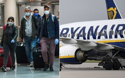 Pasažéři Ryanairu budou povinni nosit roušky. Jaká další pravidla zavedla známá letecká společnost?