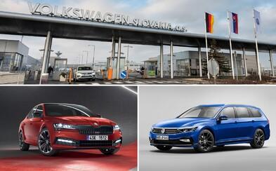 Passat a Superb sa budú vyrábať na Slovensku. Volkswagen potvrdil miliardovú investíciu pre Bratislavu