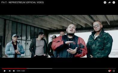 P.A.T. predstavuje dlho očakávaný videoklip Nepriestrelní, v ktorom mu chrbát kryje aj sám Rytmus
