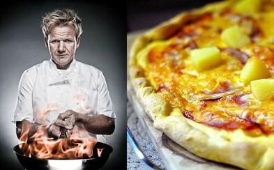 Patrí ananás na pizzu? Gordon Ramsay uzavrel večnú hádku najlepšou možnou odpoveďou