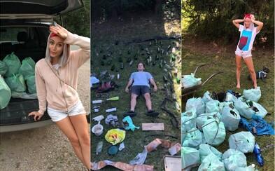 Patrik a Andrea vyzbierali v Slovenskom raji za pár hodín 65 kíl odpadu. Situácia v našich lesoch je alarmujúca