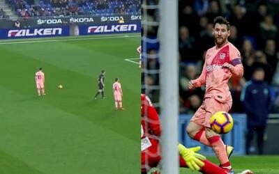 Pelé zosmiešnil Messiho, ten odpovedal dvomi výstavnými gólmi z priamych kopov