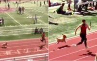 Pes sa zatúlal na bežecké preteky a takmer prekonal svetový rekord Usaina Bolta. Video sa stalo hitom internetu