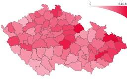 PES v Praze stoupl za týden o 20 bodů. Pandemie znovu nabírá na obrátkách
