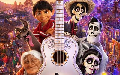 Pestrofarebná ríša mŕtvych nás v zábavnom animáku Coco očarila svojím prepracovaným vizuálom a úsmevnými dobrodružstvami (Recenzia)