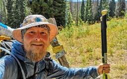 Pět tisíc kilometrů pěšky přes Spojené státy. Pavel Sabela zvládl Continental Divide Trail (Rozhovor)
