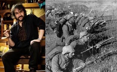 Peter Jackson nakrúti ambiciózny dokument o prvej svetovej vojne. Pomocou filmovej mágie zreštauruje políčka v originálnych záberoch