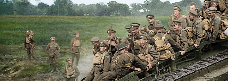 Peter Jackson oživil hrdinov prvej svetovej vojny a ukázal nám ich trápenie a radosť v úžasných farebných záberoch (Recenzia)