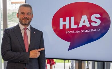 Peter Pellegrini predstavil logo svojej novej strany HLAS - sociálna demokracia. Je to komunikačná bublina