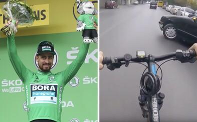 Peter Sagan bojuje za bezpečnosť na cestách. Chce, aby sa cyklisti museli predbiehať s 1,5-metrovým odstupom
