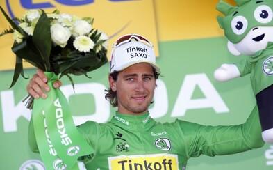 Peter Sagan je po dnešnej etape definitívne držiteľom zeleného dresu!