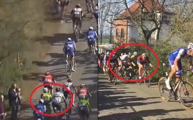 Peter Sagan mal podvádzať a strčiť do cyklistického súpera. Belgické médiá sa ho snažia zničiť za každú cenu