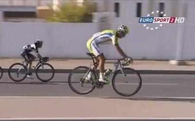 Peter Sagan na pretekoch okolo Ománu opäť zaujal