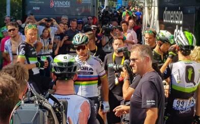 Peter Sagan na tohtoročnej Tour de France dojazdil! Organizátori ho za stret s Cavendishom diskvalifikovali