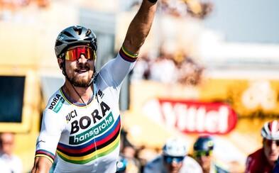Peter Sagan nedal svojim súperom v piatej etape Tour de France absolútne žiadnu šancu