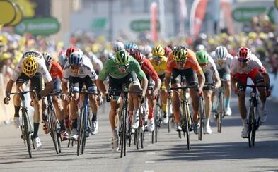 Peter Sagan obsadzuje tretie miesto v siedmej etape Tour de France