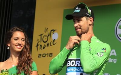 Peter Sagan si udržal zelený dres aj v 4. etape Tour de France, víťazstvo mu tesne ušlo