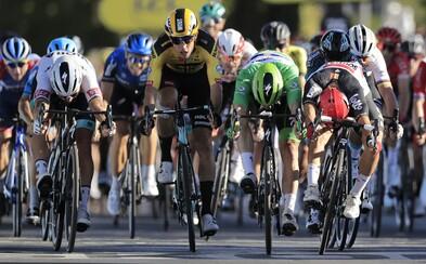 Peter Sagan skončil v 11. etape Tour de France druhý, dostal však trest a preradili ho na posledné miesto