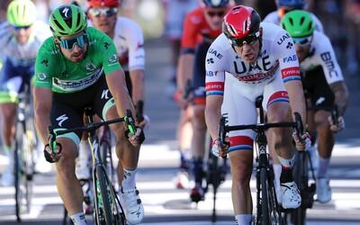 Peter Sagan skončil v 16. etape Tour de France štvrtý