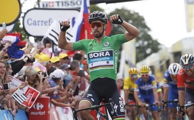 Peter Sagan zakončil 7. etapu Tour de France na treťom mieste. Slovenský cyklista si udržal náskok v bodovacej súťaži