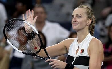 Petra Kvitová po fantastickém obratu mířila za vítězstvím, ale finále Australian Open nakonec nezvládla