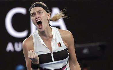 Petra Kvitová postupuje do finále Australian Open!
