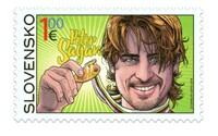 Petra Sagana si Slovenská pošta poctila vlastnou poštovou známkou. Jeho majstrovská radosť zostane zvečnená navždy