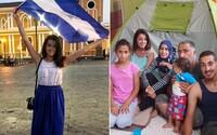 Petra si do bytu nasťahovala 7-člennú rodinu utečencov zo Sýrie. Pomáhať neprestala, aj keď sa jej vyhrážali anarchisti (Rozhovor)