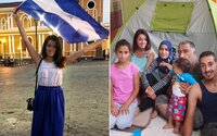 Petra si do bytu nastěhovala sedmičlennou rodinu uprchlíků ze Sýrie. Pomáhat nepřestala, i když jí lidé vyhrožovali (Rozhovor)