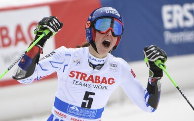 Petra Vlhová opäť veľkolepo zvíťazila v obrovskom slalome!