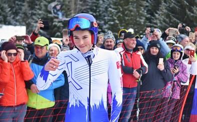 Petra Vlhová sa znovu usmieva zo stupňov víťazov, v slalome zaknihovala parádne 3. miesto
