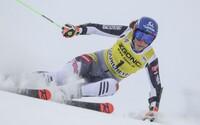 Petra Vlhová v obrovskom slalome Svetového pohára po prvom kole viedla, napokon skončila tretia