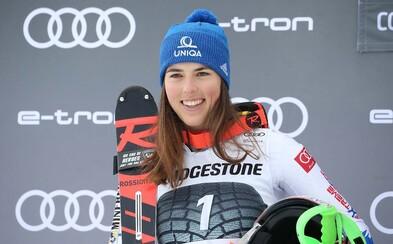 Petra Vlhová vybojovala skvelé prvé miesto v paralelnom slalome