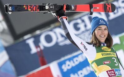 Petra Vlhová vyhrala prvé kolo svetového pohára v alpskom lyžovaní