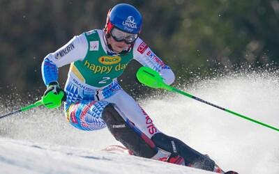 Petra Vlhová vyhrala slalom v Kranjskej Gore. Jej rivalka spadla tesne pred cieľom