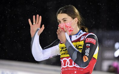 Petra Vlhová zvíťazila v slalome Svetového pohára vo fínskom Levi